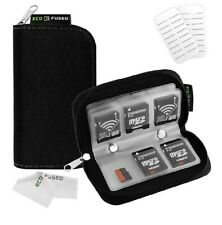 Eco-Fused Memory Card Carrying Case / Suitable for SDHC SD Cards 8 Pages C34