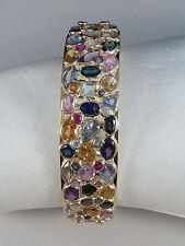 Natürliche Armbänder mit Edelsteinen Sets aus Gelbgold für Damen