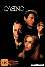 CASINO DVD - 1995 Film - Robert De Niro - Sharon Stone - Joe Pesci