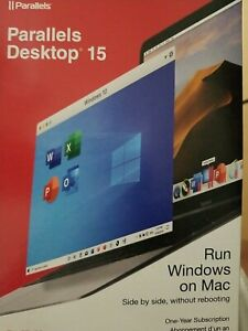 Parallels Desktop 15 Run Windows on Mac One Year Subscription for Mac