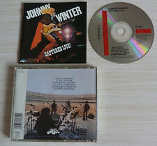 CD ALBUM CAPTURED LIVE - WINTER JOHNNY 6 TITRES 1976