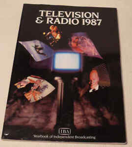 Television & Radio 1987 IBA Yearbook of Independent Broadcasting
