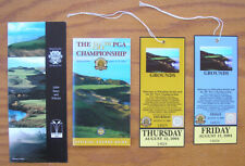 2004 PGA Golf Championship Whistling Straits, 2 Tickets & 2 Guides, Wisconsin