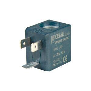 Magnetventilspule CEME 588 - 230V 50Hz 13,5VA / für Bügelstation Dampfreiniger