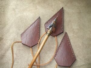 3- Leather Broadhead Sheath