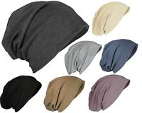 Slouch Solid Beanie Hat