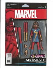 MS. MARVEL # 1 (ACTION FIGURE VARIANT, JAN 2016) NM NEW