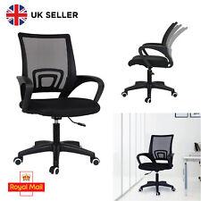 Ergonomic Black Mesh Office Chair Adjustable Desk Chair Swivel Computer Chairs