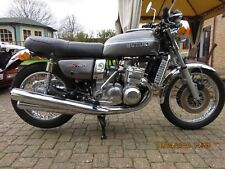 """Suzuki GT750 classic bike, Excellent condition, fully restored, lovely """"kettle"""""""