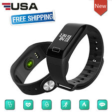 Waterproof Bluetooth Smart Watch Phone Mate Heart Rate Monitor For Android IOS