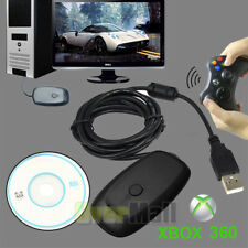 Wireless Controller Game Receiver Adapter For Microsoft XBOX 360 Windows XP/7/8