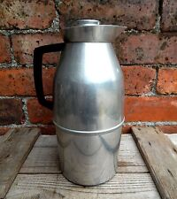 Vintage Aluminium Thermos Drinks Flask Jug Mid Century Camper Van Made in Egland