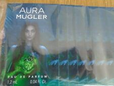THIERRY MUGLER ANGEL AURA MUGLER  1.2ML SAMPLES LOT x 6 EDP VIALS NEW IN PERFUME