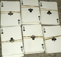 Bicycle Playing Card Decks Lot Of 6 EUC Complete