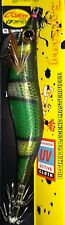 PRO HUNTER SQUID CLOWNFISH SERIES WHITH HOOK C'ULTIVA 3.0 COLOR: GREEN
