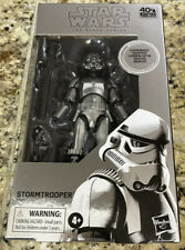 "Star Wars Black Series CARBONIZED STORMTROOPER 6"" Figure - Ships Immediately!!"