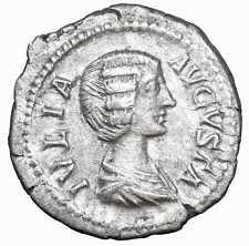 Julia Domna römische münzen denar silber antike Denarius Roman Silver ancient