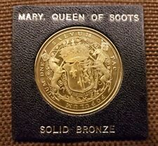 Medaille Mary Queen of Scots Bronze