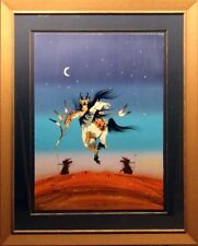 """Rance Hood """"Crazy Day Song"""" Serigraph Hand Signed with Custom Frame Make Offer"""