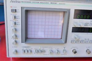 Vintage Anritsu ME453M Microwave System Analyzer Receiver POWERS ON