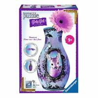 Ravensburger 3D Flower Vase Premium Puzzle - Girly Girl Edition Age 9+ Toy