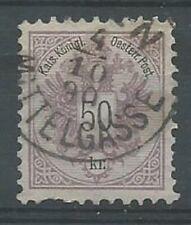 Austria 1883 50 kr lilac SG75 good used. Clear cancel. (2008).