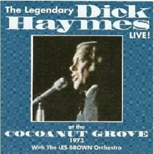 CD: The Legendary DICK HAYMES Live! at the Cocoanut Grove STILL SEALED Les Brown