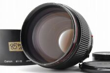 [AB- Exc] Canon New FD NFD 85mm f/1.2 L MF Prime Lens w/ Hood From JAPAN Y3792