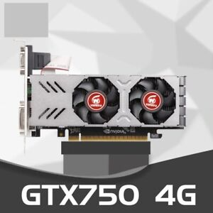 Video CardGTX 750 4GB 128Bit GDDR5 Graphics Cards GeForce VGA stronger