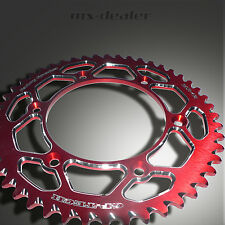 GP-TECH Factory Sprocket Kettenrad rot Suzuki RM RMZ 125 250 450 50 Zähne