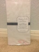POTTERY BARN KIDS MONIQUE LHUILLIER SATEEN ETHERAL BUTTERFLY CRIB FIT SHEET PINK