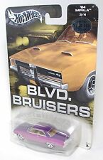 Hot Wheels BLVD BRUISERS LIMITED EDITION COLLECTION '64 IMPALA PURPLE PINK 1:64