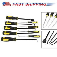 9-piece Scraper, Hook and Pick Tool Set, Black New (US)