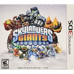 Skylanders Giants Game Only For The Nintendo For 3DS Very Good 6E