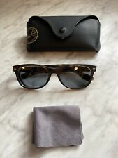 Ray Ban RB 2132 894/76 Wayfarer Brown Tortoise Sunglasses 55-18 145 3P