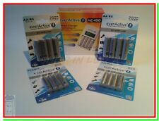 Caricabatterie per Pile Ricaricabili EVERACTIVE LCD +8 AA 2000mAh +8 AAA 800mAh