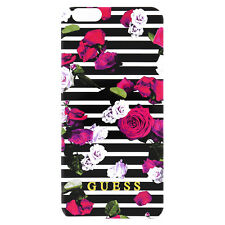 "Guess iPhone 6 & 6 S 4.7"" collection printemps TPU Case-rose rayures-Authentique"