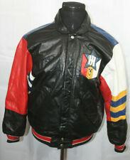 Vintage Jeff Hamilton Eagle and Stars Snap Up Leather Jacket M