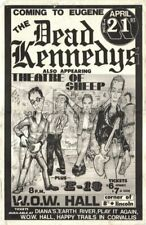 Dead Kennedy - Concert VINTAGE BAND POSTERS Song Rock Travel Old Advert #ob