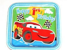 NEW CARS BABY'S 1st BIRTHDAY!   8-LUNCH PLATES  PARTY SUPPLIES
