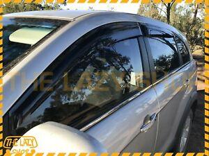 Weathershields Weather Shields for Holden Captiva 06-19 Window Visors