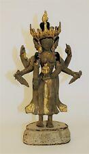 Antique Chinese Tibetan Statue of Avalokitesvara