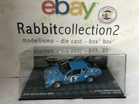 """DIE CAST """" ALPINE RENAULT A310 RMC 1975 J. THERIER """" PASSIONE RALLY 1/43"""