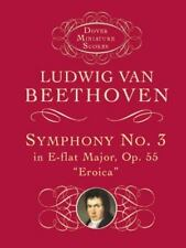 "Dover Miniature Music Scores: Symphony No. 3 in E-Flat Major, Op. 55 ""Eroica"" b…"