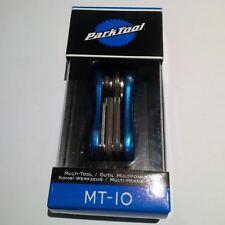 PARK Tool MT-10 MINI ripiegare Multi-Strumento con Forged Aluminum PIASTRE LATERALI