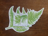 PITCAIRN Is 2016 FERNS 2 STAMP MINI SHEET MINT STAMPS