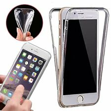 Ultra Thin Shockproof 360✔Clear Gel Phone Case Cover✔Full Body Protection