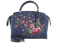 GUESS Heather Blue Satchel Purse Denim Handbag A13 179c50c126721