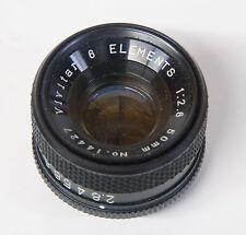 Vivitar 50mm f/:2.8 6 Element Enlarging Lens - 39mm thread