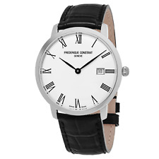 Frederique Constant Men's FC-306MR4S6 Slimline Automatic Silver Dial 40mm Watch